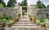 Lorbottle Hall - access to the walled garden