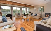 Heiton Mill House - open plan sitting room