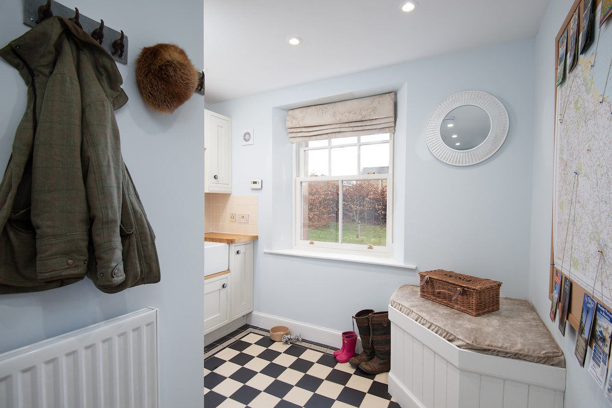 South Lodge - utility room