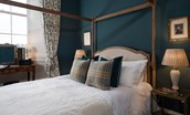 The Earl & Countess - bedroom three with four poster bed
