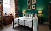 The Earl & Countess - bedroom two with fine period detailing