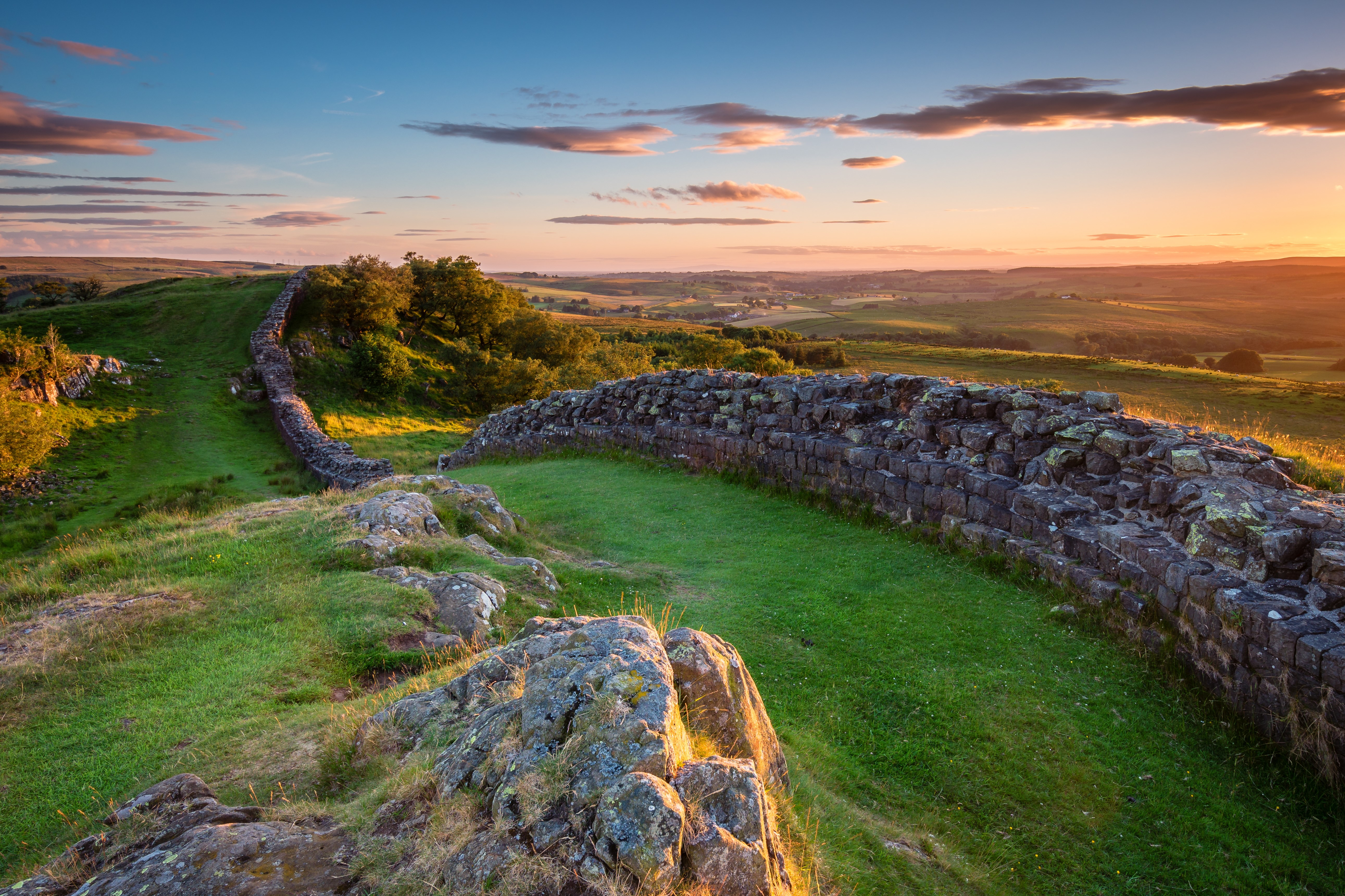 Hadrian's Wall - near Walltown