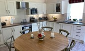 Dryburgh Steading Three - kitchen & dining area