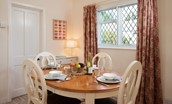 Kilham Cottage - dining table