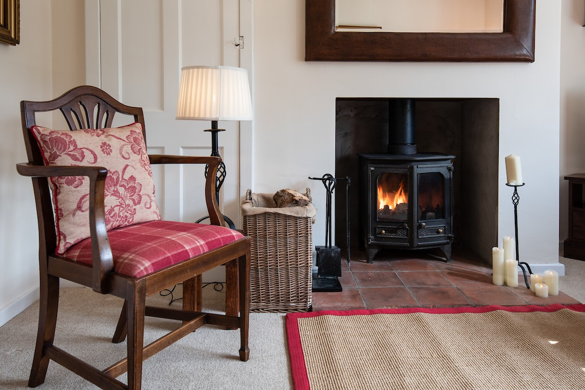 Kilham Cottage - fireside