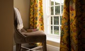 Aydon Castle Cottage - bedroom window seat