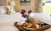 The Gingan - bedroom one breakfast tray