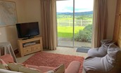 Croft House - snug and games room with outstanding views