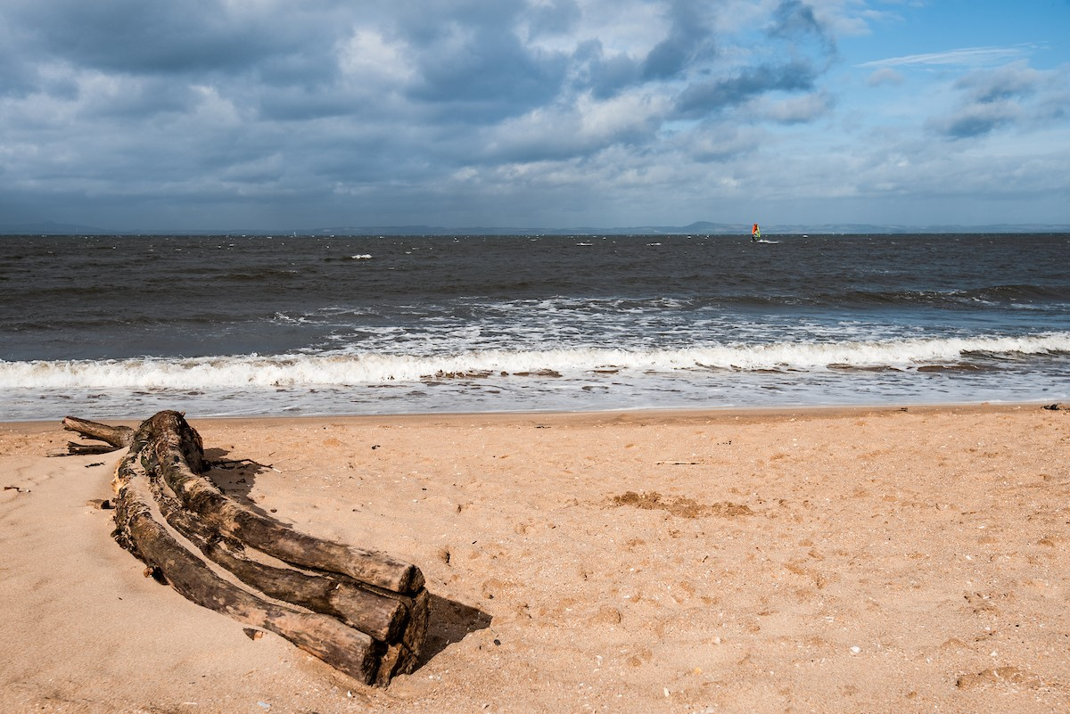 Nearby Gullane Bents beach