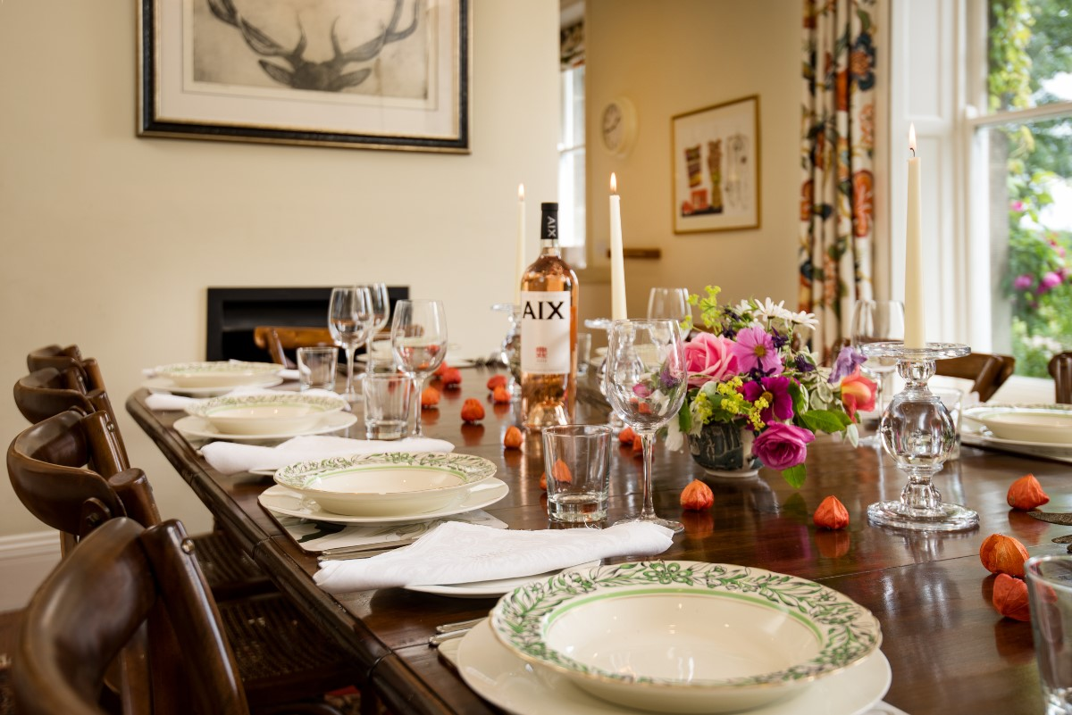 Brunton House - dining table