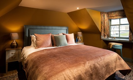 The bedrooms have an opulent but cosy feel - perfect for those weekend lie-ins.