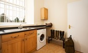 The Clock Tower - utility room/boot room