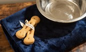 Mallow Lodge - dog biscuits and bowl