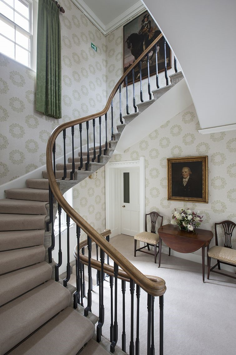 Abbotsford Hope Scott Wing - staircase