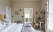 Abbotsford Hope Scott Wing - Maxwell Scott bedroom with en suite bathroom