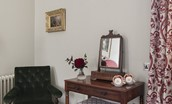 Abbotsford Hope Scott Wing - Lockhart bedroom dressing table