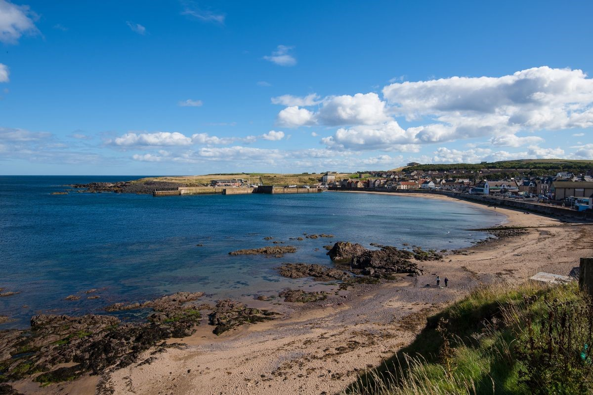 Albero - Eyemouth beach & coastline