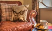 Antlers - sitting room cushions