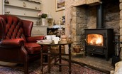 April Cottage - fireside