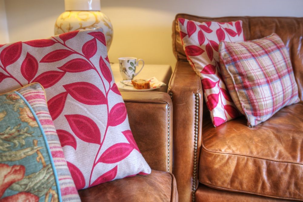 Balmoral Cottage - sitting room cushions