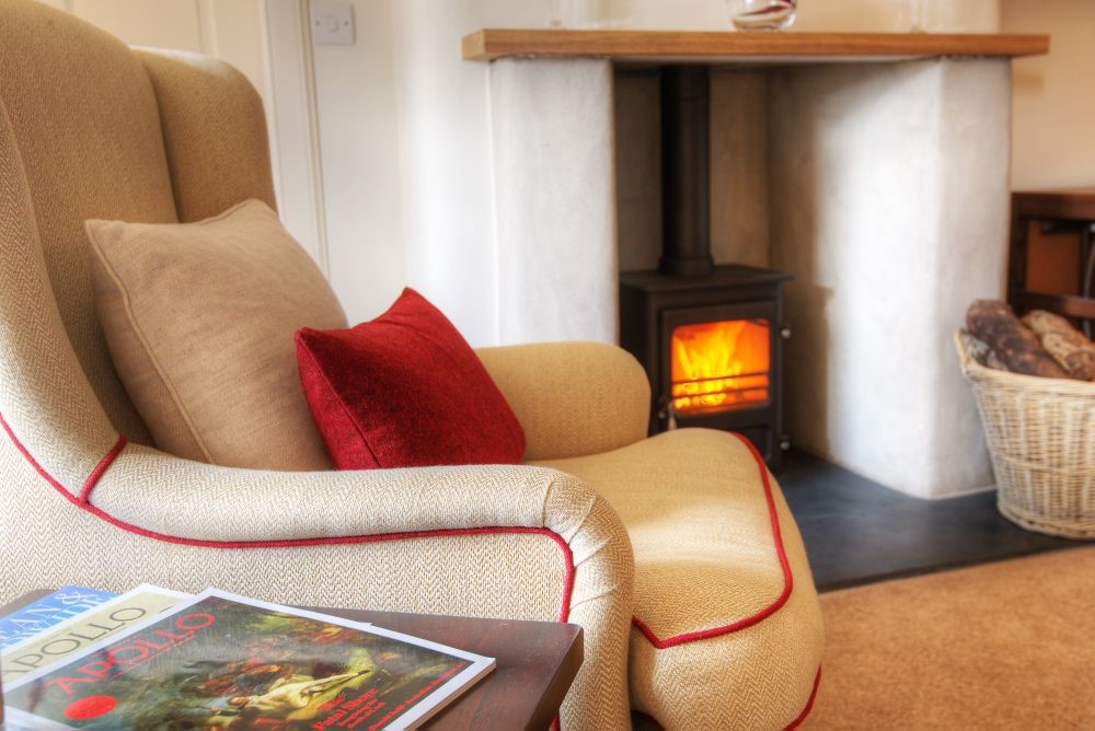 Bramley Cottage - fireside