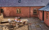Bramley Cottage - patio