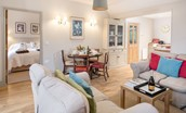 Barley Hill Cottage - open plan living space