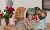 The Potting Shed - welcome basket