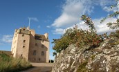 Fenton Tower situated in Scotland's Golf Coast in East Lothian, close to Edinburgh
