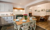 Border Cottage - dining kitchen & snug