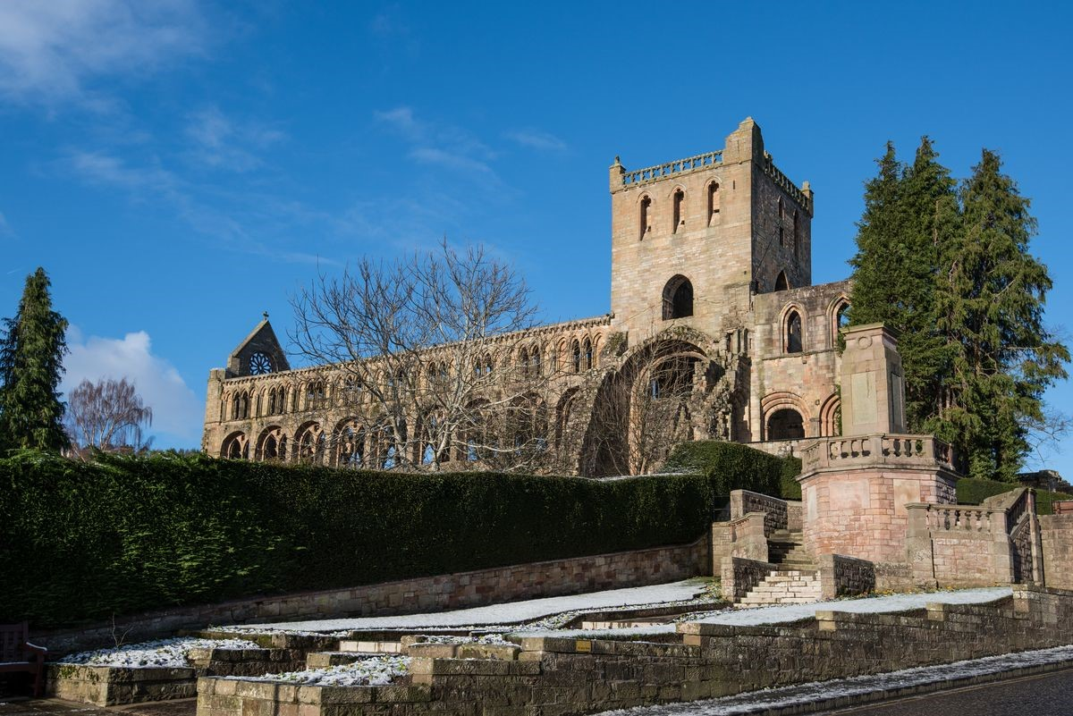 Boundary Bank - Jedburgh Abbey