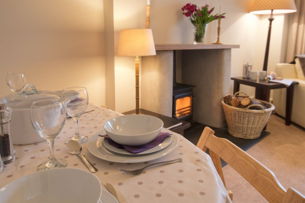 Whip up a feast of local produce to be enjoyed in front of the cosy wood burner.