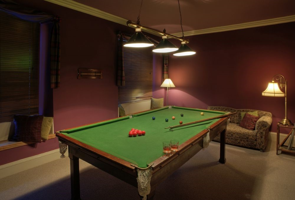 Broadmeadows - games room