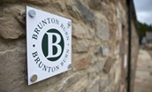 Brunton Burn - signage