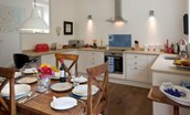 Brunton Burn - dining area & kitchen