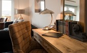 Byre - sitting room desk