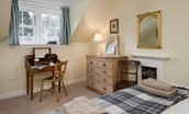 Byreman's Cottage - bedroom two with dressing table