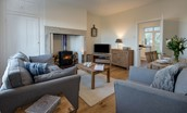 Chaffinch Cottage - sitting room
