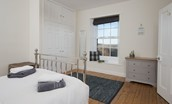 Chaffinch Cottage - bedroom one with views