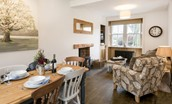 Chestnut Cottage - dining & seating areas