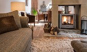 Coach House - wood burning stove