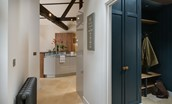 Coach House - kitchen & boot room