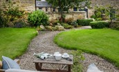 Coach House - shared garden