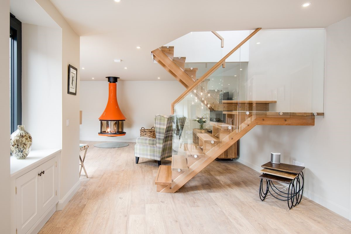 Coledale Stables - staircase & sitting room