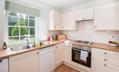 Crailing Cottage - kitchen