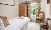 Crailing Cottage - bedroom three