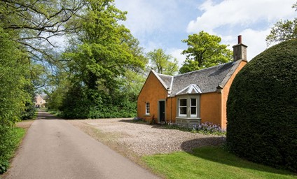 The garden and surrounding woodland allow you to enjoy serenity of the peaceful setting on the private estate.