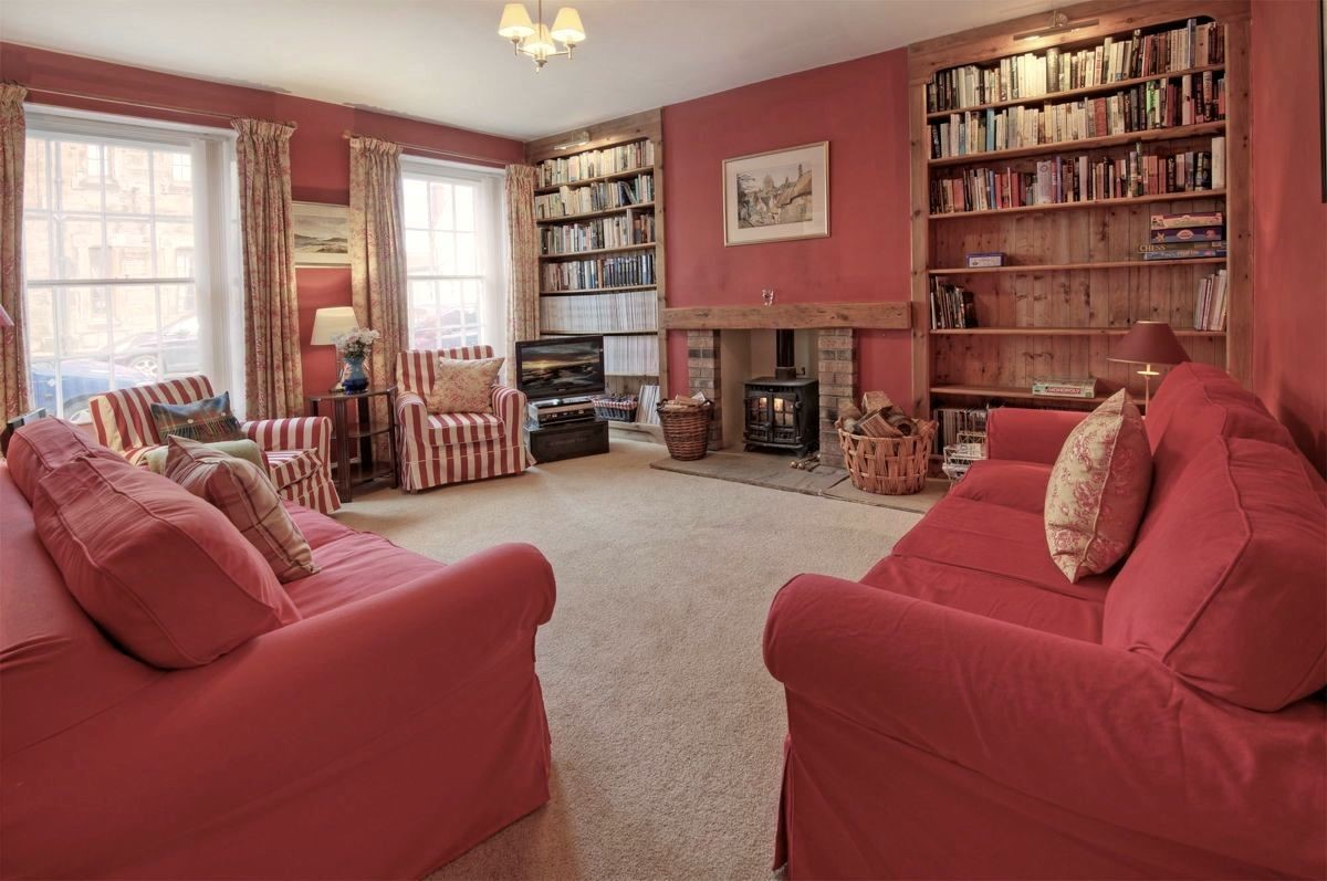 Earsdon House - sitting room