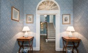 Edenside House - entrance hall & staircase