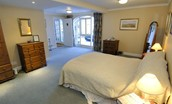Ellemford Estate - bedroom seven & access porch to annexe